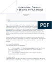 Project Cost Analysis