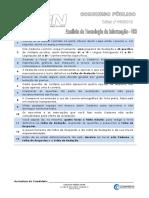103 - Analista de Tecnologia Da Informação