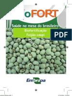Feijão caupi biofortificado - caderneta