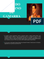 SEGUNDO GOBIERNO DE AGUSTIN GAMARRA