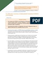 Preparación y Respuesta a la Enfermedad del Coronavirus (COVID-19)