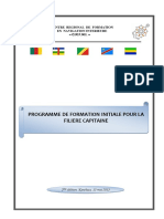 CICOS_CRFNI Programme de formation initiale pour la filière capitaine 150513