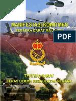 Manifestasi Komitmen Tentera Darat Malaysia