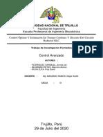 Control Optimo Y Estimación En Tiempo Continuo Y Discreto Del Circuito Reductor RLC