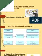 PLANEACION ADMINISTRATIVA. Niveles y Tecnicas. (1)