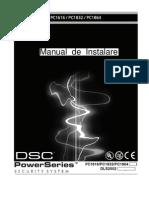 manual instalare DSC1616