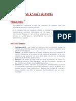 2. POBLACIÓN Y MUESTRa