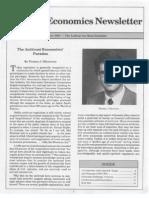 Austrian Economics Newsletter Summer 1991