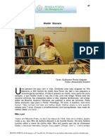 Waldir Bíscaro - Entrevista
