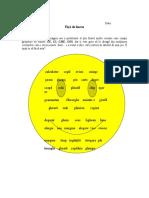 Fisă de lucru (grupuri de litere)