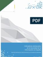 ONTSI indicadores España sociedad informacion ene2011