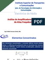 Aula 4 - Amplificadores Lineares de RF