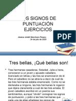 EJERCICIOS PUNTUACIÓN Y MAYÚSCULAS-