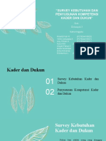 KEL 3 SURVEY KEBUTUHAN DAN PENYUSUNAN KOMPETENSI KADER & DUKUN.pptx