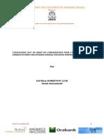 La revue du droit des affaires en Afrique