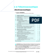 Introduction electroacoustique