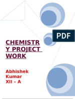 Chemistry_Projects by @bhishek