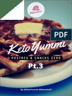 ★ Postres&Snacks Pt.3
