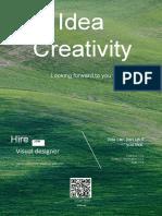 Creative Green Recruitment Poster-WPS Office