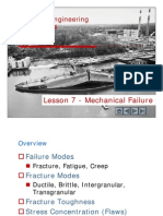 Lesson 7.0 - Failure Mechanisms