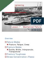 Lesson 7.0 - Failure Mechanisms