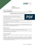 Exame de Filosofia - 2019 / 1ª fase - cc