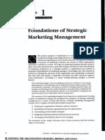Chapter 1 Foundations of Strategic Marketing