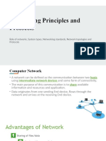 LO1_ Networking principles and their protocols