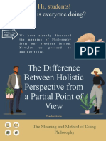 The Difference Between Holistic Perspective from a Partial Point of View.pptx