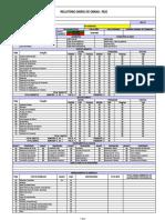 Relatório Diário de Obras - RDO