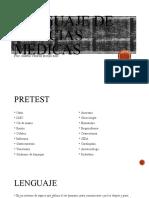 Lenguaje de ciencias medicas