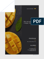 Plan de exportación de mango 2020