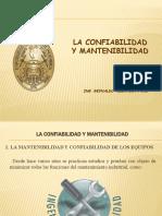 17.-Confiabilidad Mantenibilidad, Disponibilidad