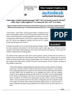 Press Release Autodesk Inventor Certification 2009