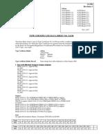 Type Certificate Data Sheet No. Ia196 Rev 3 (30.10.2017)