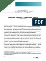 Pasini_Produzione_energia_e_cambiamenti_climatici