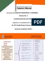 SEMANA 3 - CLASIFICACIÓN DE LOS COSTOS.