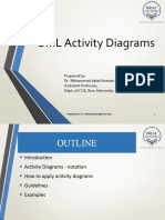 Lecture 05 Design with UML Activity and Sequence diagram