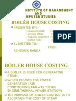 Boiler Costing