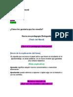 Trabajo  N° 1 -  Sistemas y Procesos Curriculares