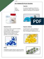 Presentaiocnes Farmacologicas