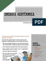 Energia Geotérmica presentación