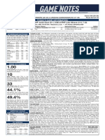 09.13.20 Game Notes