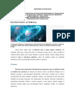 Resumo Estrurura Atômica - Agroecologia