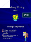 MGMP WRITING TEACHING