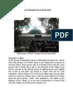 Hazrat Jahangir Peeran Hyderabad