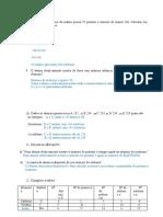 Lista exercicios distribuição eletrônica