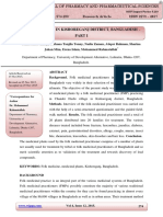PHYTOTHERAPY IN KISHOREGANJ DISTRICT, BANGLADESH – PART I