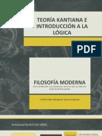 TEORÍA KANTIANA E INTRODUCCIÓN A LA LÓGICA.pptx