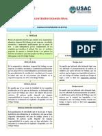 CONTENIDO DERECHO LABORAL EXAMEN FINAL-1